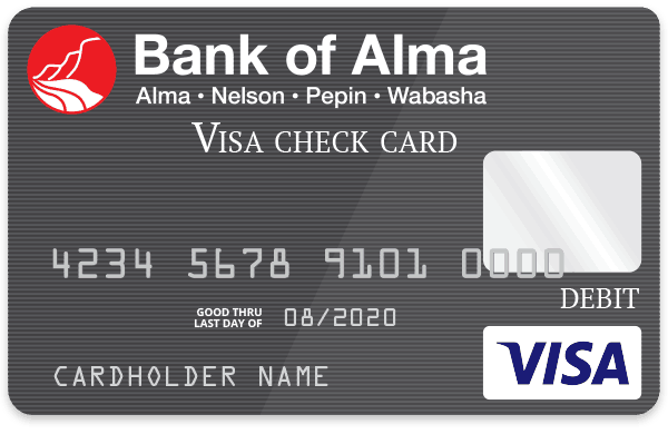 Bank of Alma Debit Card